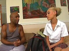 Ebony School Girl Teen Fucked By Big Black Cock