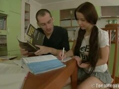Sweet teen seduced by her coach