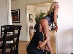 Briana Banks cheats on her husband and gets thrusted hard from behind
