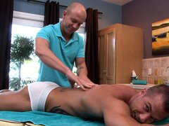 The massage therapist reveals his passionate approach to the task in hand