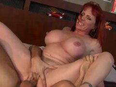 Redhead Mommy's Hot Friend Kylie Ireland Milf Fucking