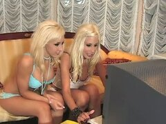 Joe Lean, Jessica Lynn & Puma Swede in lesbian sex video.