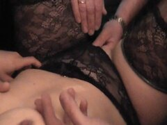 Wife has a gangbang with 24 men