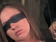 Maddy O'Reilly Teased in Bondage and Blindfolded