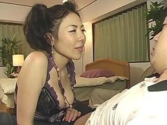 Really Horny Asian MILF Enjoying a Cock