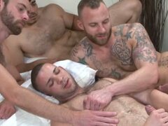 bareback group fun