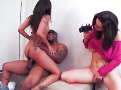 Skin Diamond makeup room threesome