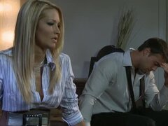 A naughty office affair