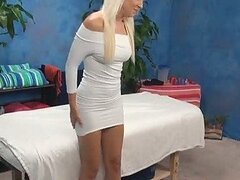 Perfect Massage Girl caught on Spy Cam