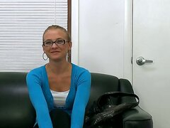 The beautiful amateur bimbo Natasha has come to the casting and she doesnt seem to be very surprised when her interviewer asked her to strip and show nude body