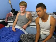 Gay Sleepovers: The Last Sleep Over For Robbie - Anthony Evans And Robbie Anthony