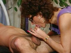 German hooker exaggerates her acting