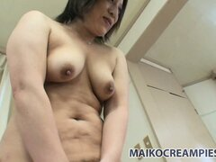 Kimiko plans to drive her partner totally crazy with passionate masturbation show