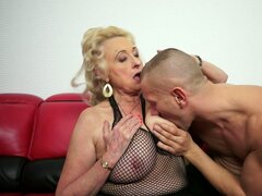 Randy Grandmother Surpsies with Amazing Lust and Sexual Desire