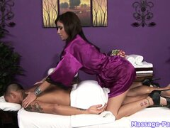 All her massages end with her hands around her customer�s dick