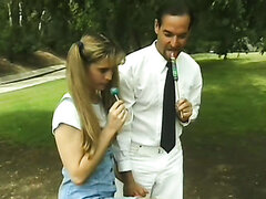 School Girl Ashley Ready To Fuck For Big Lolipop